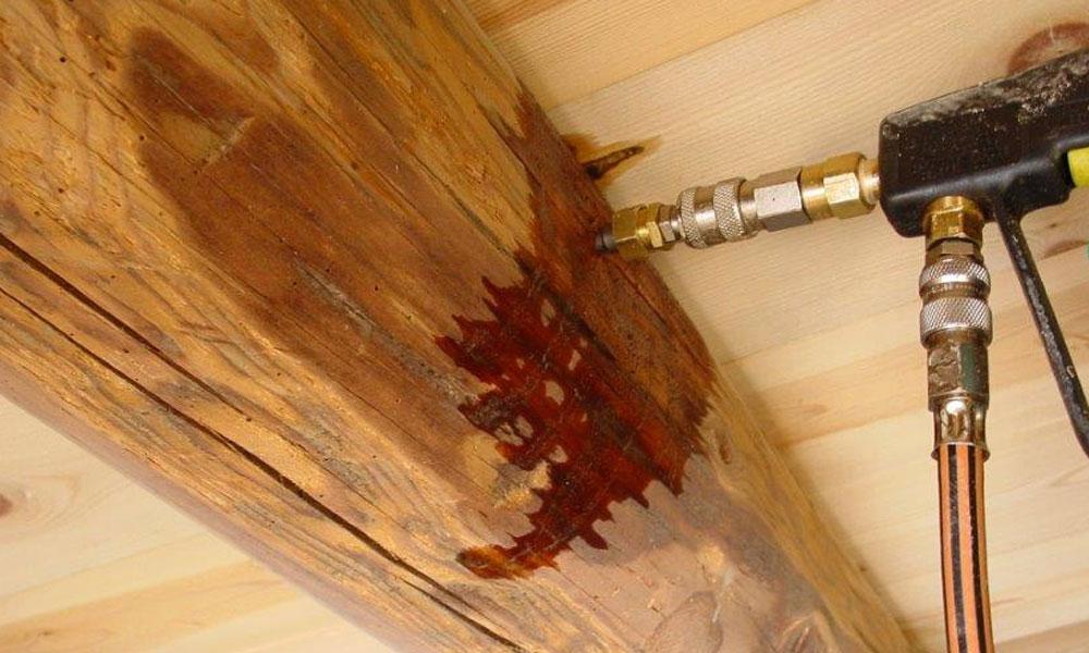 Tratamiento madera termitas